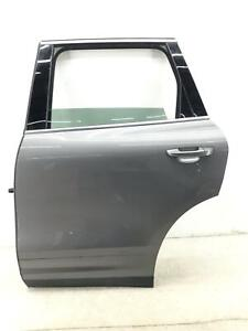 2011-2018 PORSCHE CAYENNE LEFT REAR DOOR SHELL W/O SHADE METEOR GREY METALLIC