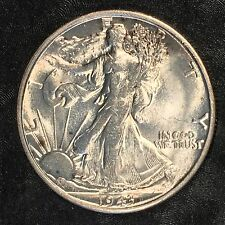 1943-S Walking Liberty Half Dollar - Uncirculated - High Quality Scans #E926