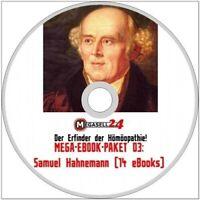 ☝ MEGA EBOOK PAKET 03 Samuel Hahnemann CD 14 eBooks PDF Homöopatie MIT MENÜ Neu
