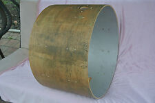 """LATE 1960's/EARLY 70's GRETSCH 22"""" NAKED BASS DRUM SHELL for YOUR DRUM SET! #Y59"""
