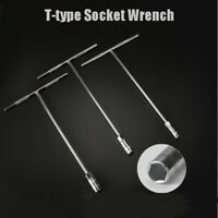 Handle Socket Nut Wrench 13MM Hexagon Spanner Tool T-type Socket Wrench Tool