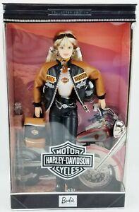 Barbie Harley Davidson 1999 Collector Edition Doll Mattel No. 25637 NRFB