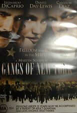 Drama Gangs of New York Daniel Day Lewis Martin Scorsese Region 4 DVD VGC