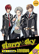 DVD ANIME STARRY SKY Vol.1-26 End + Soundtrack CD All Region + FREE ANIME