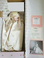 """Ashton-Drake Galleries """"Beth's 1960's Wedding Dress"""" Porcelain Bride Doll"""