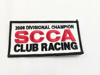 Vintage SCCA Sports Car Club Of America 2006 divisional champion Racing Patch