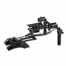 Movo MMF400 Premium Motorized Follow Focus & Zoom Video Shoulder DSLR Camera Rig