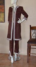 ESCADA Linen Moroccan Caftan Style Pant Suit Blazer Size 6/8 NEW!!!