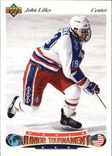 John Lilley - 1991-92 Upper Deck Czech World Juniors - Boston Univ. Terriers