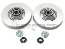 CITROEN DS3 1.2 1.4 1.6 e-HDi  REAR 2 BRAKE DISCS FITTED WHEEL BEARING ABS RINGS