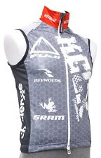 Verge KCCX Cycling Vest Men XS Red Grey SRAM CX Road Bike MTB Cyclocross Race