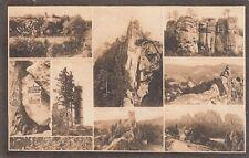 0779. s/w-AK. 8-Bild-Karte. Český ráj. Malá Skála - okolí. Böhmisches Paradies.