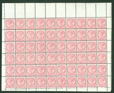 SG 28 Prince Edward Island 1870. 2d rose pink. A complete unmounted sheet of...