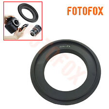 52mm Macro Reverse Adapter Ring for Fujifilm X-Pro1 X-E1 FX X Pro XPro1 camera