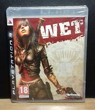 WET - PS3 - PlayStation 3 - PAL - NUOVO NEW OLD STOCK SEALED