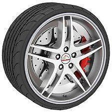 "SILVER GREY Alloy Wheel Protector Rim Trim Strips 13"" to 22"" RIMBLADES M17/5"