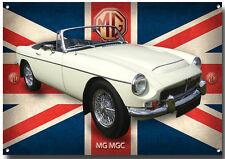 Mg Mgc Metal letrero. mg Clásico Británico coches. GARAJE, Coleccionable