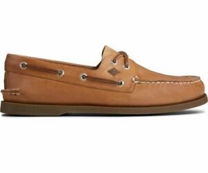 Sperry Men's Authentic Original Leather Boat Shoes - Sahara NWB