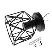 rétro vintage style industriel encastré noir plafonnier abat-jour # 4