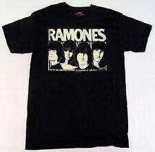 RAMONES SKETCH T-shirt Vintage NYC Punk Rock Band Tee Adult X-Large XL Black New