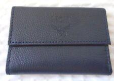 MCM Navy Blue Key Chain Wallet