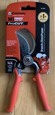 "CORONA MAX FORGED PRO 1"" CUT (BRANCH & STEM PRUNER) DUAL ARC BLADE BP7200-NEW"