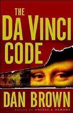 Da Vinci Code by Dan Brown / Hard Cover Hc / Dust Jacket Dj / Msrp $24.95 U.S.