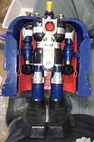 Vintage 1996 Power Rangers Zeo Auric The Conqueror Megazord MMPR Action Figure