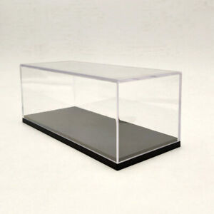 Model Car Display Box Acrylic Case Cover Transparent Dust Proof 1:43 1:64 16cm