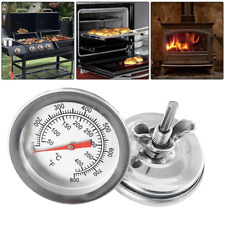 1PC*BBQ Pit Smoker Grill Thermometer Gge Temp Outdoor Hoo F8A7 Barb CL C5Z2