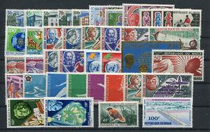 Niger Jahrgang 1970 postfrisch in den Hauptnummern kompl.................2/13952