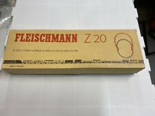 HO Scale Fleischmann Z 20 Track in box with two uncouplers tracks