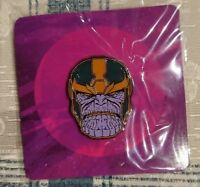 Loot Crate Marvel Gear + Goods THANOS Avengers Enamel Pin badge lootcrate