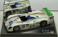 132009M-GL LM Miniatures Audi R8 Le Mans 2005 #2 RARE Hand built resin slot car
