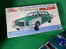 Taiyo Made in Japan - Mercedes Benz  Polizei in Box Tinplate - 25cm