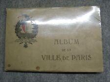b76 Album de la ville de Paris - photos Hôtel de Ville et Palais des beaux arts
