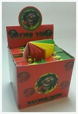 FULL BOX 100 BOOKLET FILTER TIPS ROACH ROACHES PAPER CARD 5000 PAGES HERB