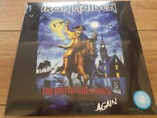 IRON MAIDEN - THE BRITSIH ARE COMING AGAIN - NO'D LTD 3 LP COLOUR USA 2017 MINT