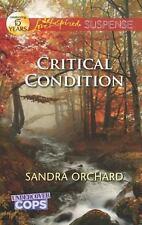 Love Inspired Suspense: Book 3 Undercover COPS Critical Condition by Sandra.....