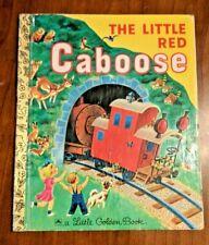 Little Golden book - The Little Red Caboose - 1953