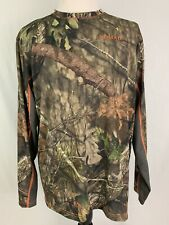 Nomad Camo Men's XL Long Sleeve Cooling Tee Mossy Oak New With Tags