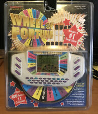 Vintage 1996 Wheel of Fortune Tiger Electronic Handheld Game