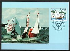 Finland / Aland - 1995 Sailing - Mi. 104 official maximum card #14