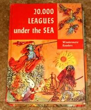 VINTAGE 20,000 LEAGUES UNDER THE SEA BY JULES VERNE HB 1956 ED WHITE PAGES