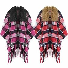 Polyester Poncho Casual Coats & Jackets for Women