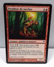 carte magic the gathering mtg - frondeur de torches - zendikar