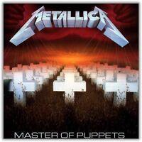 Metallica - Master Of Puppets Vinyl LP Sealed New Black