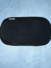 Sony PSP Soft Case Pouch Slip Cover Black - Original PlayStation Portable