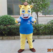 2018 Cosplay War Horse Costume Mascot Animal Suit Party Dress Birthday Outfit