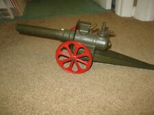 Vintage Cast Iron Big Bang Toy #10FC Cannon